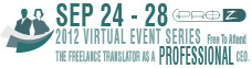 Virtual event series 2012- 5 days of virtual events