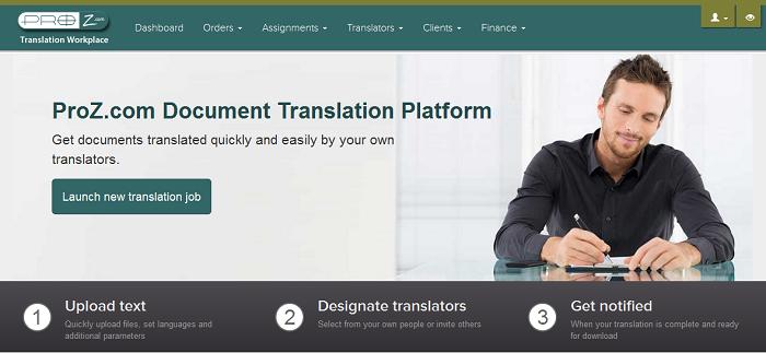 ProZ.com translation center