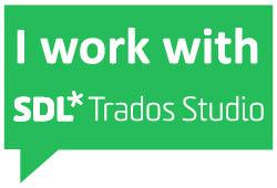 I work with SDL Trados Studio 2017