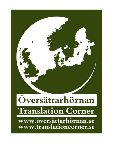 Team logo Translation Corner/Översättarhörnan