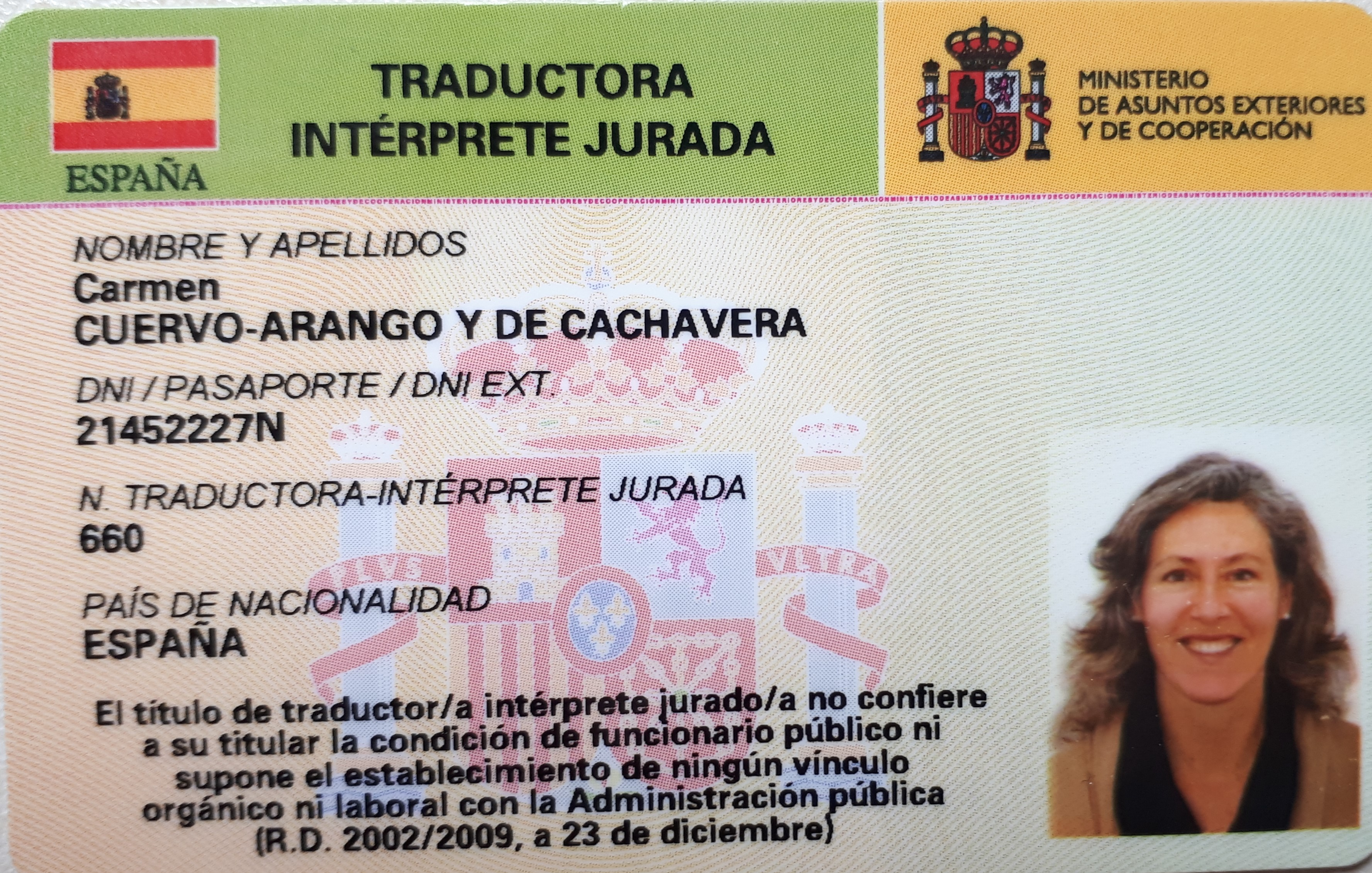 Team logo Traductores jurados