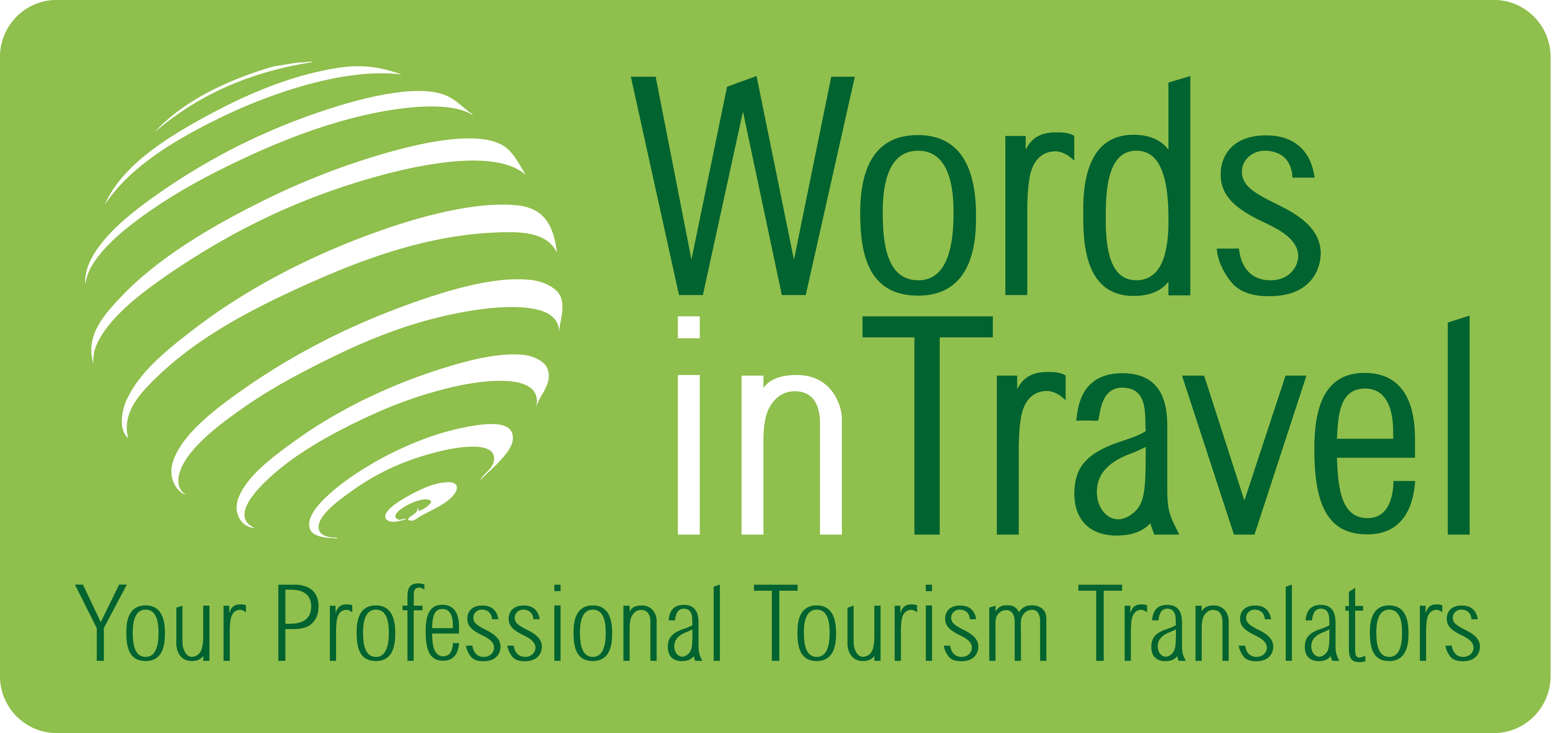 Team logo Words in Travel