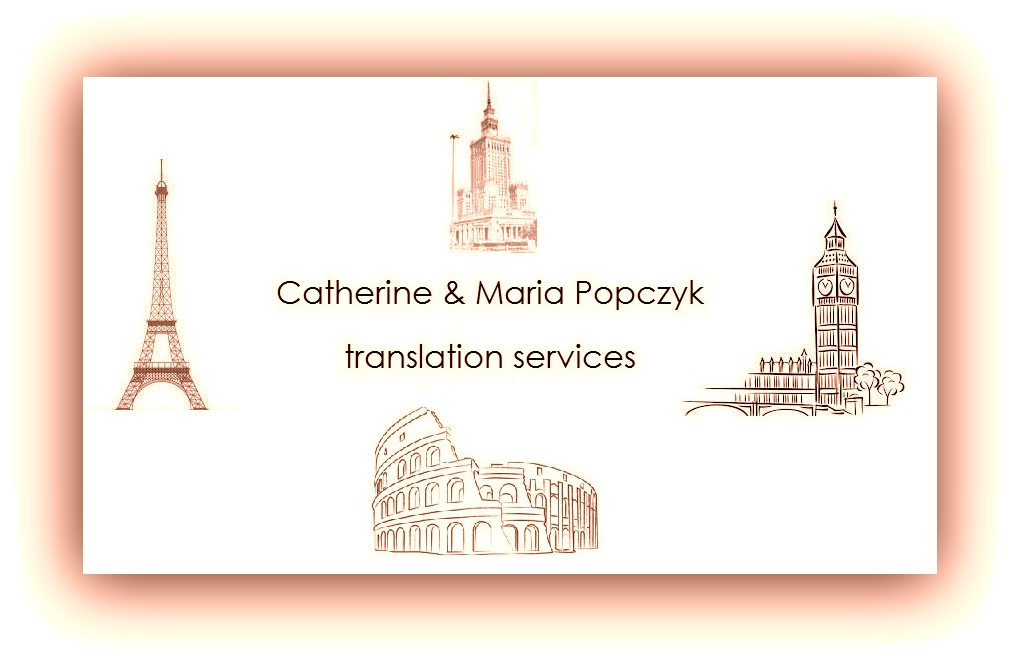 Team logo Catherine&Maria Popczyk Translation Service