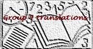 Team logo Group 4 Translations