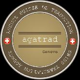 Agad Traductions / Agadtrad / AGATRAD  logo