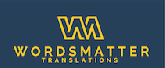 Words Matter Translations LLC / Octavio Armendariz logo