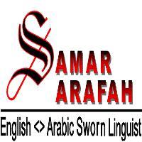 Samar Arafah - inglés a árabe translator