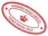 Thomas Brøndel Frost - inglés a danés translator