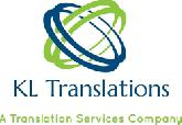 KL TRANSLATIONS / Juliet Kibs  logo