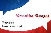 Veronika Sinagra - checo a francés translator