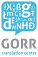 Prevajalska agencija GORR, d.o.o. logo
