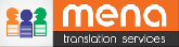 Mena translations logo