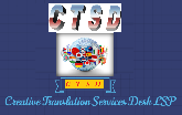 Creative Translation Services Desk logo