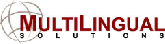 MultiLingual Solutions, Inc. logo